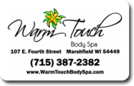 Warm Touch Body Spa LLC